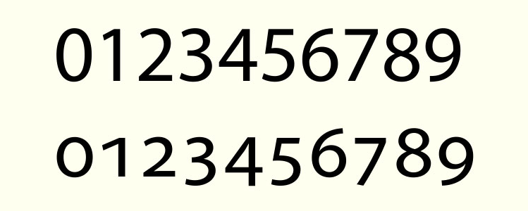 Old numerals